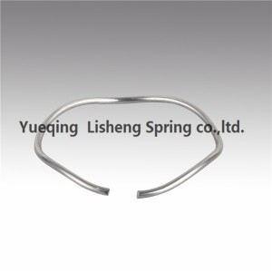 round-section wire wave spring