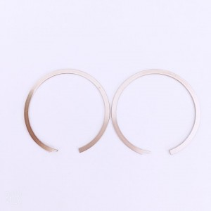 C type flat wire retaining ring Circlip