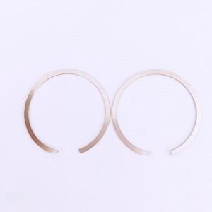 C type flat wire retaining ring Circlip