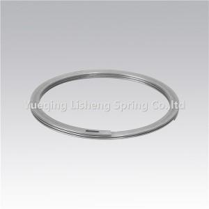 Anéis de retenção espiral equilibradas