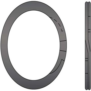 Medium Heavy Duty 2-Turn External Spiral Retaining Rings
