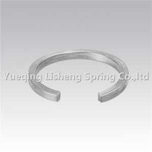 constant section retaining ring for shaft