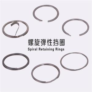 Balanced Spiral Retaining Rings